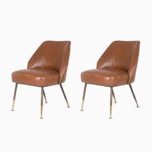Campanula Stühle von Carlo Pagani für Arflex, 1952, 2er Set