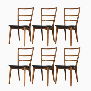 Polish Dining Chairs, 1960s, Set of 6
