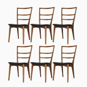 Polnische Esszimmerstühle, 1960er, 6er Set