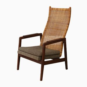 Dutch High Back Chair from Gebroeders Muntendam, 1960s