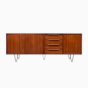 Mid-Century Teak Sideboard with New Loop Legs, 1960s