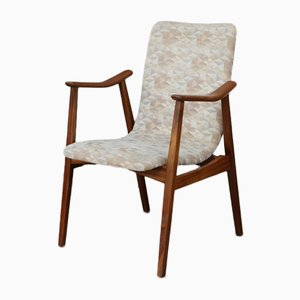 Vintage Teak Occasional Chair by Louis van Teeffelen