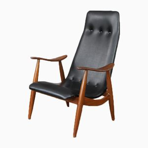 High Back Armchair by Louis van Teeffelen, 1960s