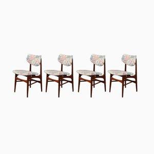 Esszimmerstühle von Louis van Teeffelen, 1960er, 4er Set