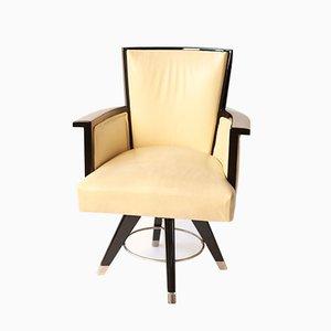 Art Déco Ebonised Desk Chair