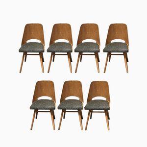 Bistro Stühle von Thonet, 1960er, 7er Set