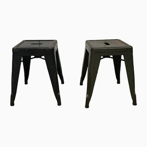 Vintage Stools by Xavier Pauchard for Tolix, Set of 20