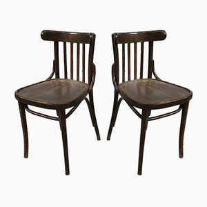 Vintage Bistro Chairs, 1960s, Set of 32