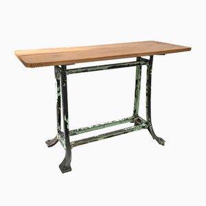 Table de Travail sur Pied Vintage Industrielle