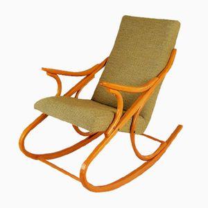Rocking Chair en Bois Courbé par Antonín Šuman pour Ton, 1960s