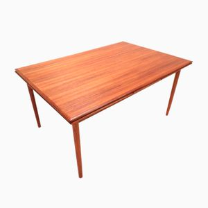 Large Danish Extending Teak Dining Table, 1960s