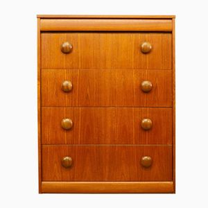 Mid-Century Teak Chest of Drawers from Elliots of Newbury