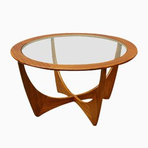 Mid-Century Teak & Glass Astro Coffee Table from G-Plan