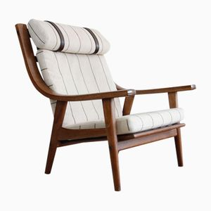 Vintage Model GE-530 Armchair by Hans J. Wegner for Getama