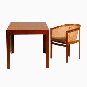Schreibtisch und Stuhl aus King Serie von Rud Thygesen & Johnny Sørensen für Botium, 1993