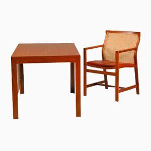 Vintage Schreibtisch & Stuhl aus King Serie von Rud Thygesen & Johnny Sørensen für Fredericia