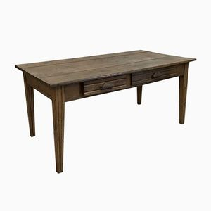 Vintage Oak Farmhouse Table