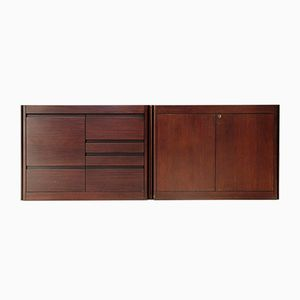 4D Sideboards by Angelo Mangiarotti for Molteni, 1960s, Set of 2