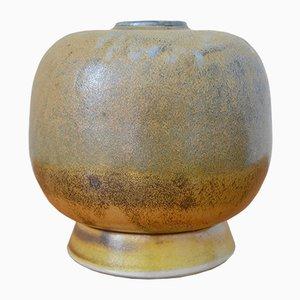 Deutsche Keramik Vase von Ursula Schmidt, 1981