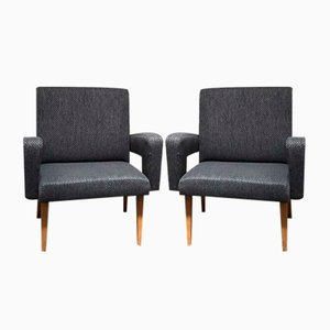 Vintage Armchairs from Navratil, Set of 2