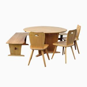Mid-Century Dining Set by Franz Xaver Sproll for Sproll