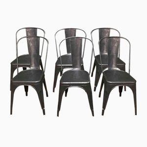 Chaises Vintage par Xavier Pauchard pour Tolix, Set de 6