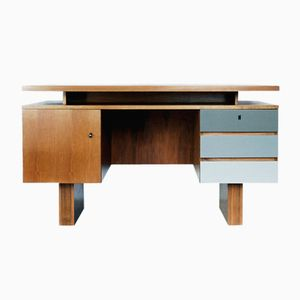 German Modern Geometric Desk, 1950s