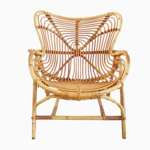 Rattan Chair from Rohe Noordwolde, 1960s