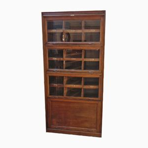 Vintage Eighteen-Drawer Oak Haberdashery Cabinet from Dudley & Co.