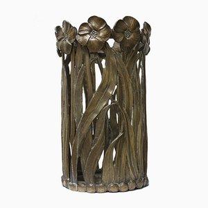 Portaombrelli Mid-Century in metallo