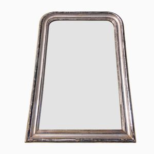 Silvered French Mirror, 1880s