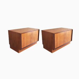 Teak Storage Cabinets from G-Plan, 1970s, Set of 2