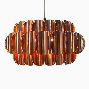 Swedish Copper Pendant, 1960s