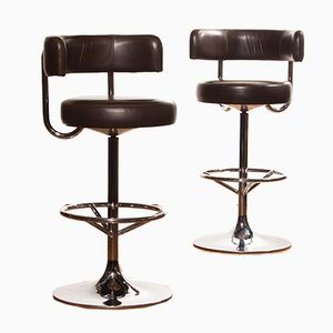 Bar Stools by Börje Johanson for Johanson Design, 1970s, Set of 2