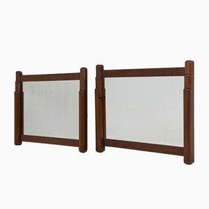 Miroirs Art Déco Ecole d'Amsterdam par Paul Bromberg pour Metz & Co., 1920s, Set de 2