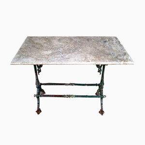 French Cast Iron Table, 1880s