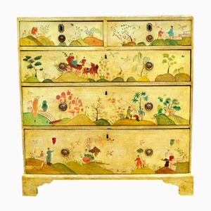 Commode à Tiroirs Chinoiserie Antique