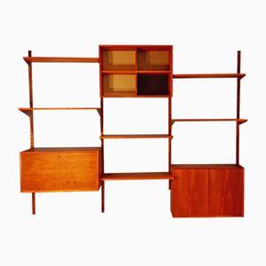 Modular Teak Bookcase by Poul Cadovius, 1960