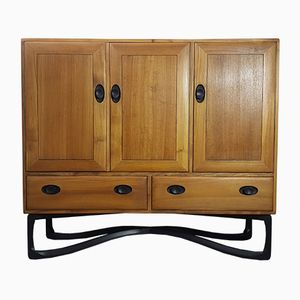 Vintage Tall Sideboard by Lucian Ercolani for Ercol