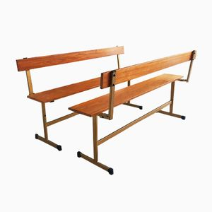 Fold Down Benches by Ladderax, 1960s, Set of 2