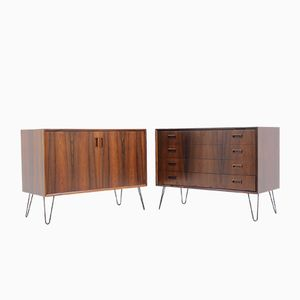 Palisander Chests, 1960s, Set of 2