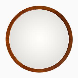 Large Danish Circular Mirror, 1960s
