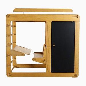 Prototyp Rappelkiste Schreibtisch von Luigi Colani für Elbro, 1975