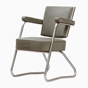 Sedia da scrivania vintage modernista