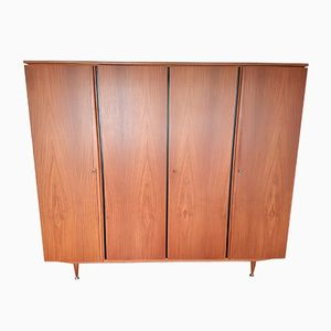 Mid-Century Dutch Teak Wardrobe, 1960s