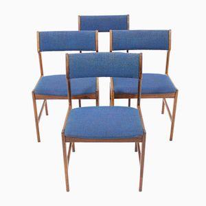 Scandinavian Palisander Dining Chairs from Brdr Andersen Vejen, 1960s, Set of 4