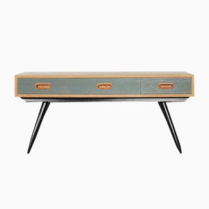 Swedish Low Sideboard with Drawers, 1960s