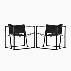 FM61 Cubic Chairs by Radboud van Beekum for Pastoe, 1980s, Set of 2