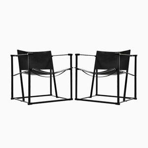 Kubische FM61 Stühle von Radboud van Beekum für Pastoe, 1980er, 2er Set