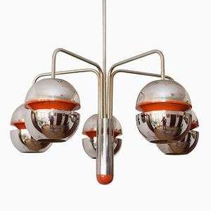Atomic Age Ceiling Lamp, 1960s